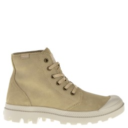palladium halfhoge dames veterboot natural