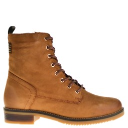 poelman dames veterschoenen naturel