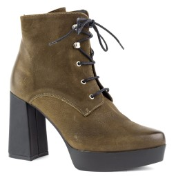 taft shoes dames veterschoen green