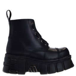 new rock dames hoge platform veterboots