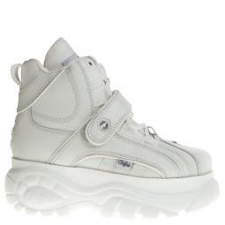 Buffalo witte chunky sneakers