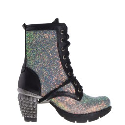 new rock dames veterboots plato glitter