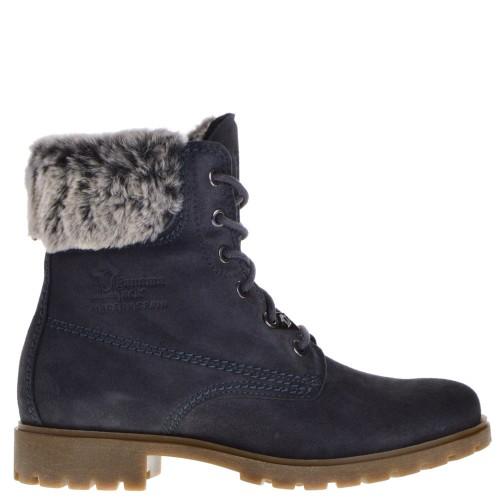 d83df3c9c Panama Jack High Shoe Laces gray for Women
