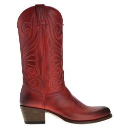 Sendra Cowboylaarzen Rood