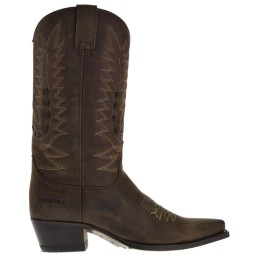 Sendra Cowboy Boots Brown for Women