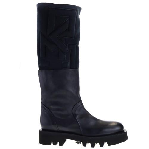 sale retailer 9b240 4adca MALLONI BOOTS BLACK FOR WOMEN