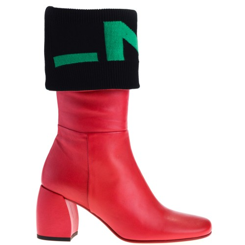 huge discount 9604b 2c90c MALLONI BOOTS RED FOR WOMEN