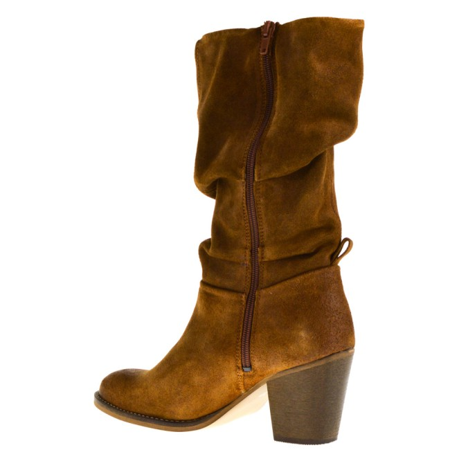 Poelman Dames  Boots in Naturel online kopen