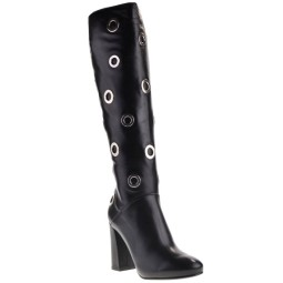Conhpol-bis High Heels Boots Black for Women