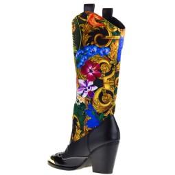 Versace Jeans Dames Laarzen in Zwart online kopen