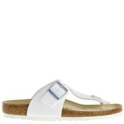 birkenstock heren slippers wit