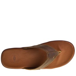 UGG Seaside Heren Slippers in Bruin kopen bij Taft Shoes