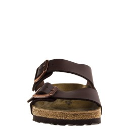 Birkenstock Arizona BS Heren Slippers in Bruin kopen bij Taft Shoes