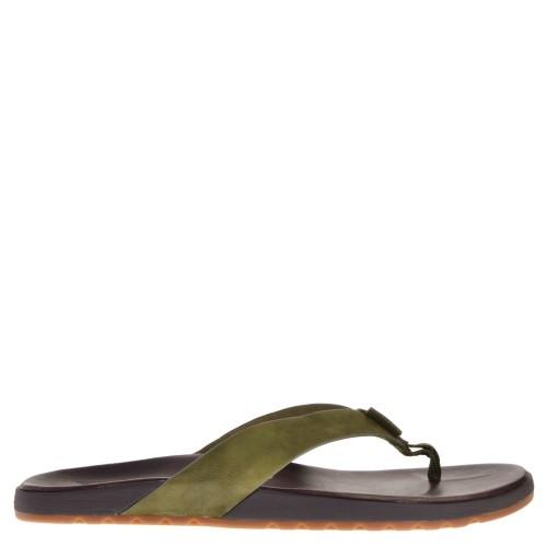 reef heren slippers groen combi 89 groen combi. direct leverbaar uit