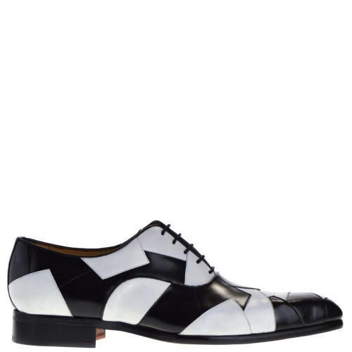 4624ed7bdf9 mister shoes heren veterschoenen wit combi 39 wit combi. Direct leverbaar  uit de webshop van ...