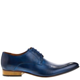 taft shoes heren veterschoenen blauw