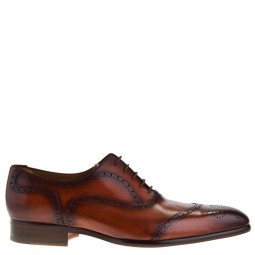mister shoes heren veterschoenen cognac