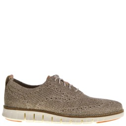 cole haan heren veterschoenen beige