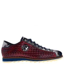 harris nette heren sneakers rood