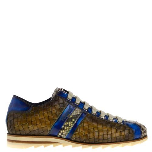 nette heren schoenen cobalt blauw