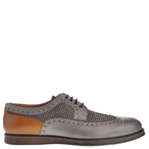 1e03ca724e6 melik heren nette schoenen grijs 49 grijs combi. Direct leverbaar uit de webshop  van ...