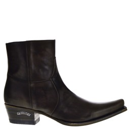 sendra boots heren western boots donkerbruin