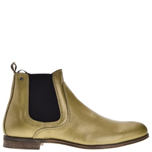 Sneaky Steve Chelsea Boots Gold for Men