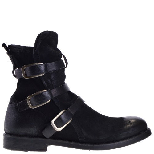 new style 82044 cdae8 AS 98 ANKLE BOOTS BLACK FOR MEN