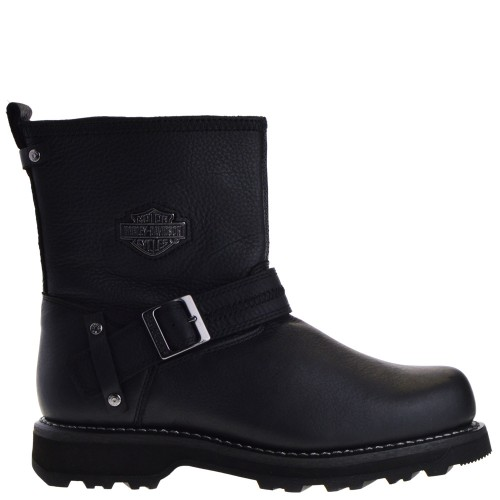 another chance unique design premium selection HARLEY-DAVIDSON LOW BIKER BOOTS IN BLACK FOR WOMEN