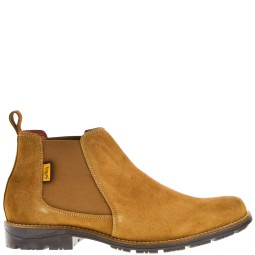 softwalk heren chelseaboots camel