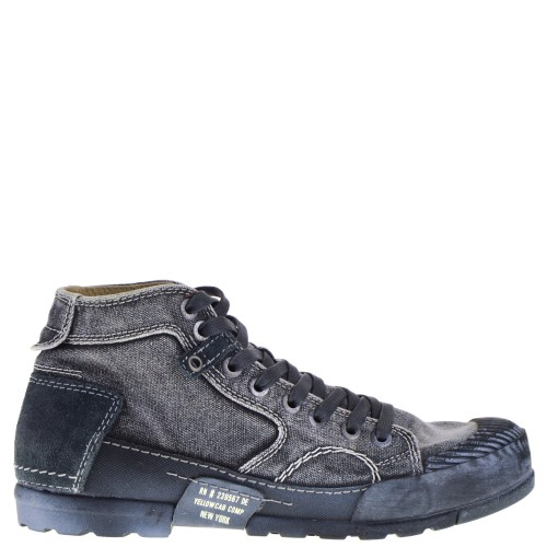 a85c26d1378 Yelllow Cab High Shoe Laces Up gray for Men