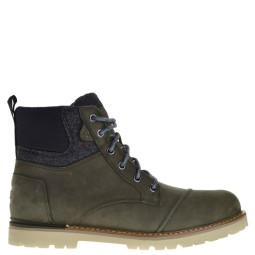 Toms High Shoe Laces Olive for Men