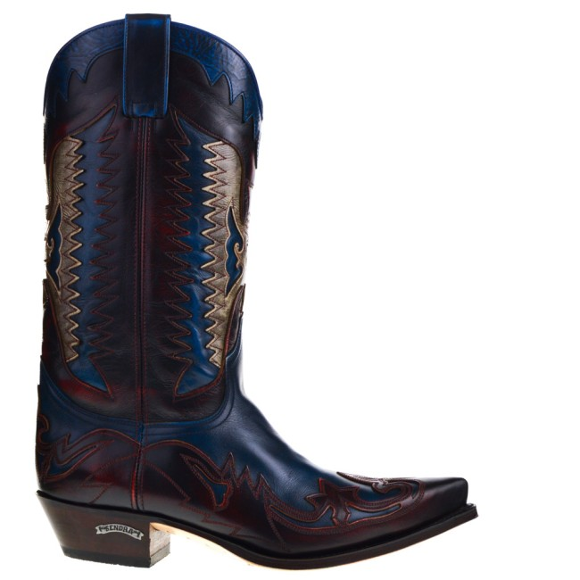 Sendra Western Boots Red for Men