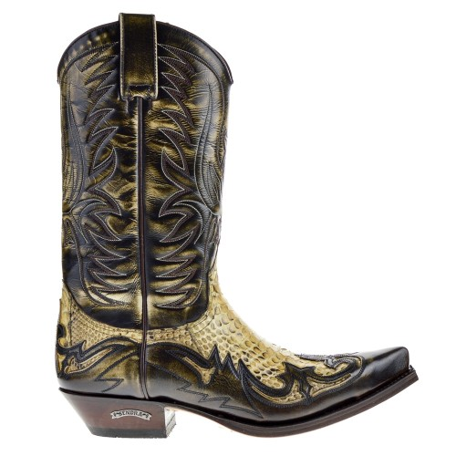 sendra cowboy boots brown for men