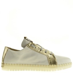 andia fora dames sneakers wit goud