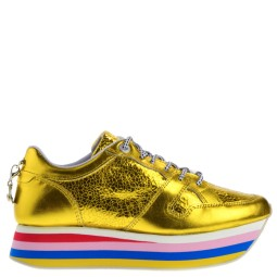 Cetti Dames Sneakers in Goud Metallic kopen bij Taft Shoes