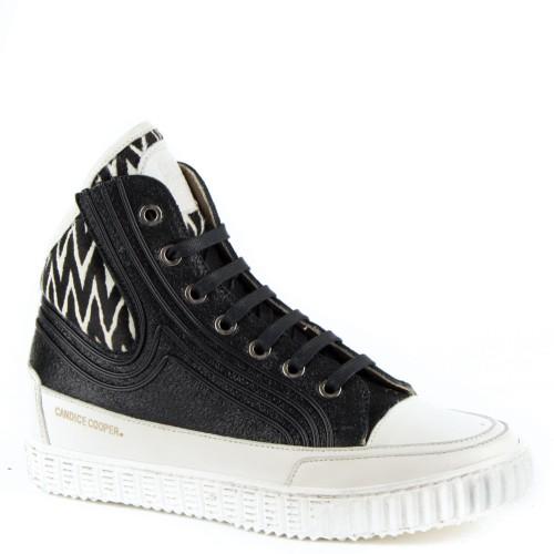 2c9a29eae4c candice cooper dames sneakers zwart 11 zwart leer Direct leverbaar uit de webshop  van ...