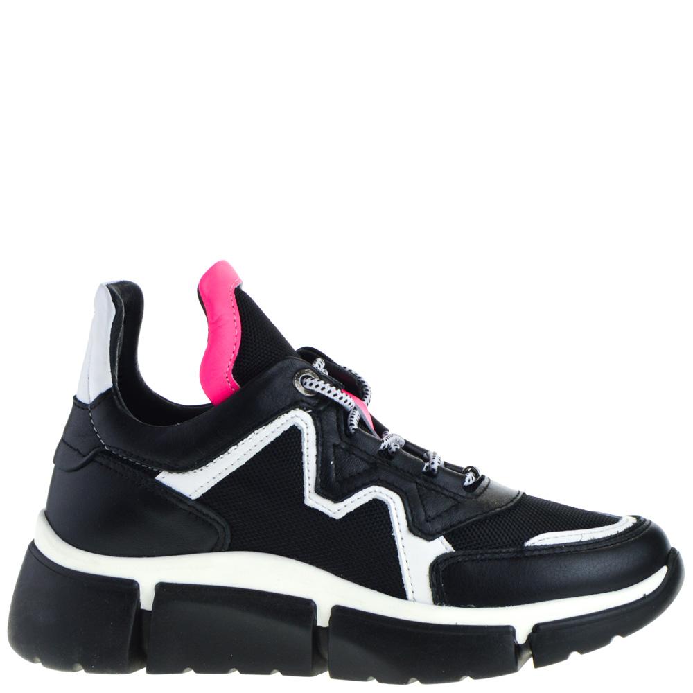 Cetti Sneakers Black White for Women