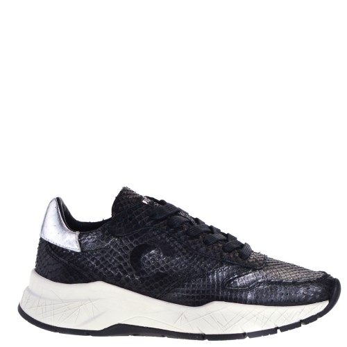 Crime London Magnetic Dames Sneakers in Zwart online kopen
