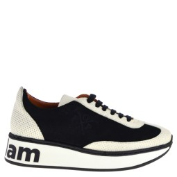Popa Sneakers Black-White for Women