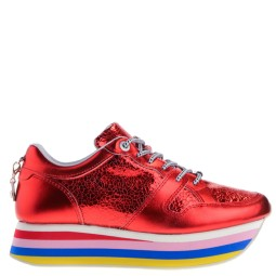 cetti dames sneakers rood
