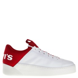 levi's dames sneakers rood