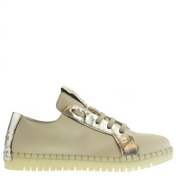 andia fora dames sneakers wit zilver