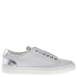 maimai dames sneakers wit zilver