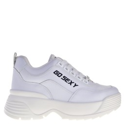 go sexy dames sneakers wit