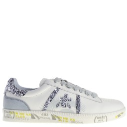 premiata will be dames sneakers wit zilver