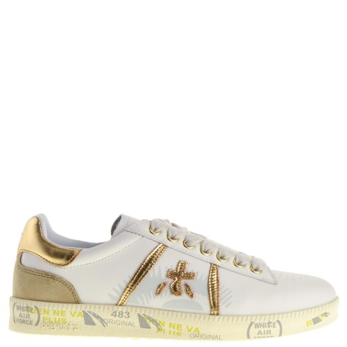 Premiata Andy Dames Sneakers in Wit online kopen
