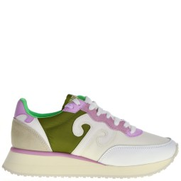 wushu dames sneakers wit combi