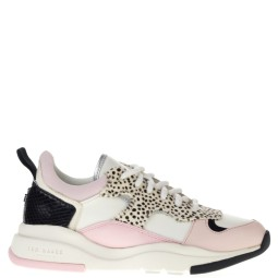 ted baker dames sneakers wit roze