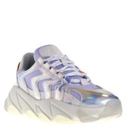 ASH Flash Dames Sneakers in Zilver-Wit online kopen